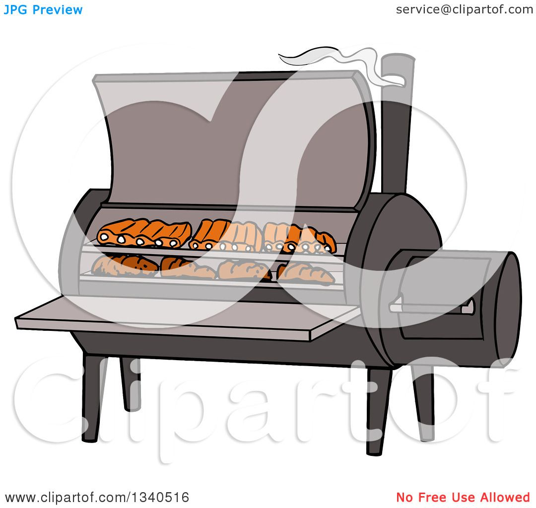 Bbq smoker clipart 8 » Clipart Station.