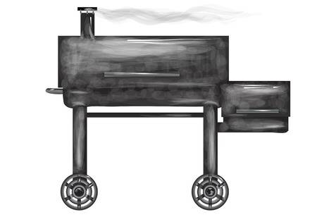 155 Bbq Smoker Stock Illustrations, Cliparts And Royalty Free Bbq.