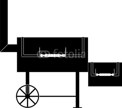 Barbecue Smoker Grill Direct 2txt 2 Stok Master clipart.