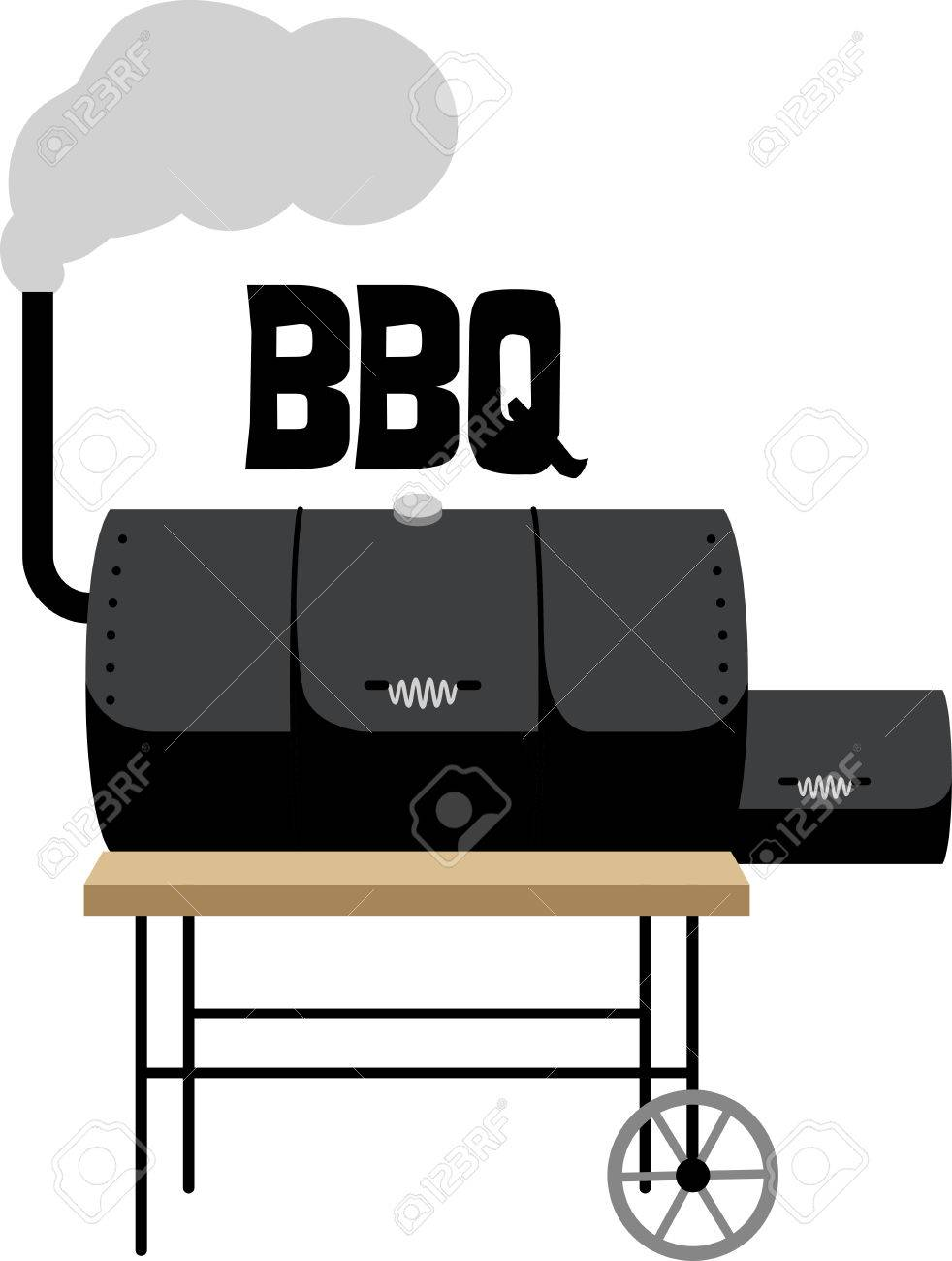 Have a great cookout with a smoker on a griller's apron..