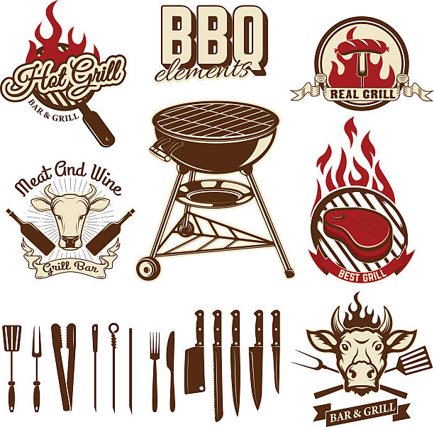 Best Smoker Grill Illustrations, Royalty.
