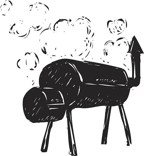 Best Bbq Smoker Illustrations, Royalty.