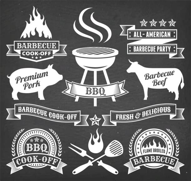 Best Smoking Meat Illustrations, Royalty.