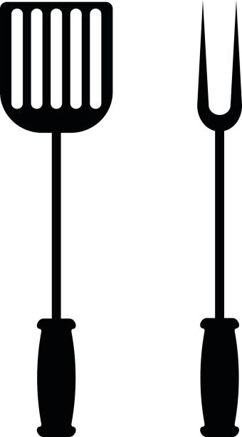 Best Grilling Utensils Illustrations, Royalty.