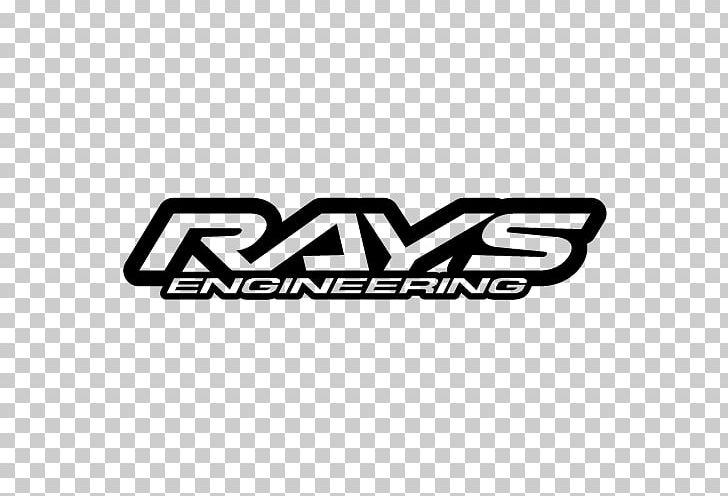 Rays Engineering Car Wheel Logo Motorsport PNG, Clipart.