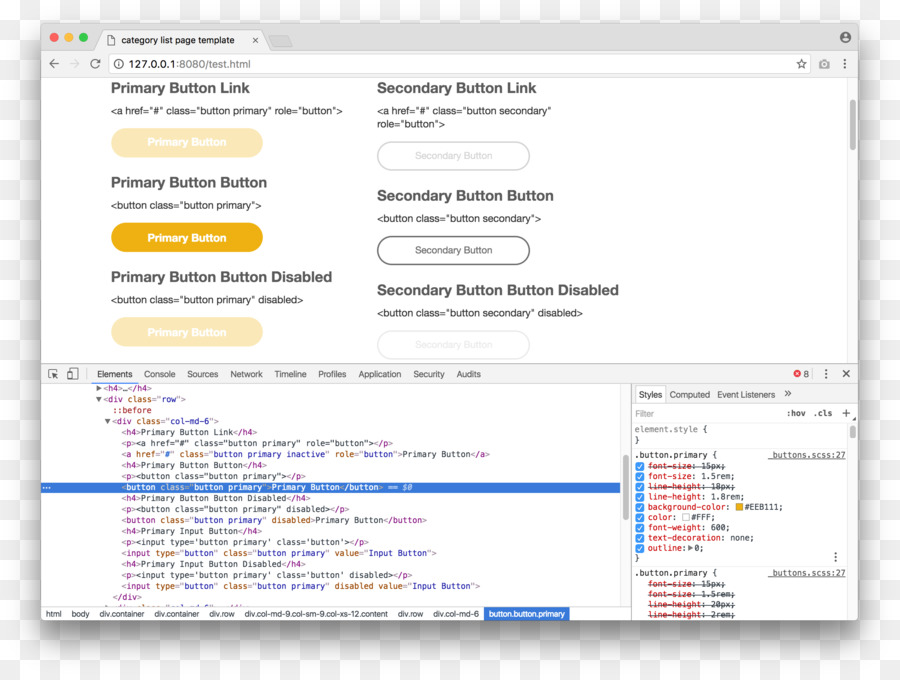 Web page Computer program Advertising Screenshot.