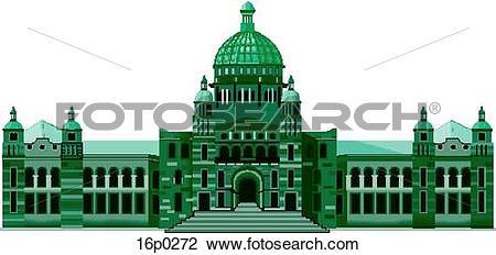Clipart of BC Legislature 16p0272.