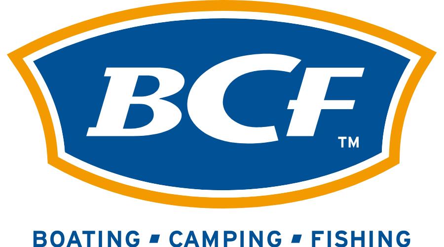 BCF BOATING CAMPING FISHING Vector Logo.