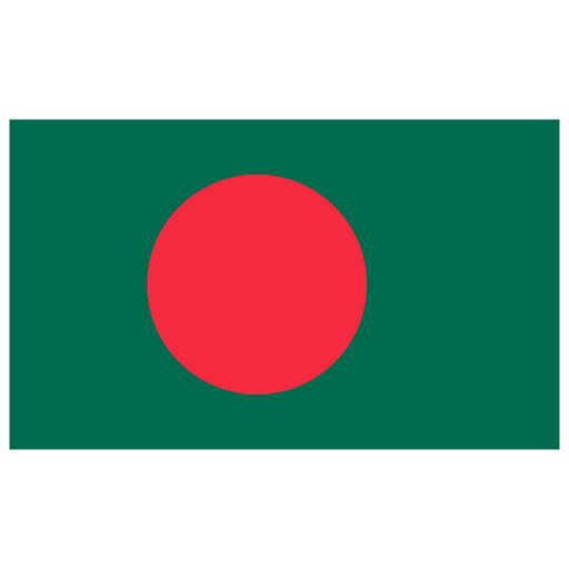 BD Bangladesh Flag Icon.