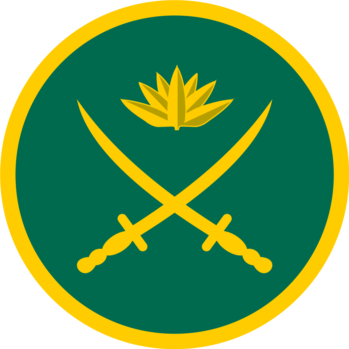 Equipment of the Bangladesh Army.