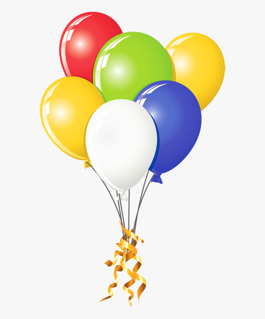 Birthday Balloons Clipart , Transparent Cartoon, Free.