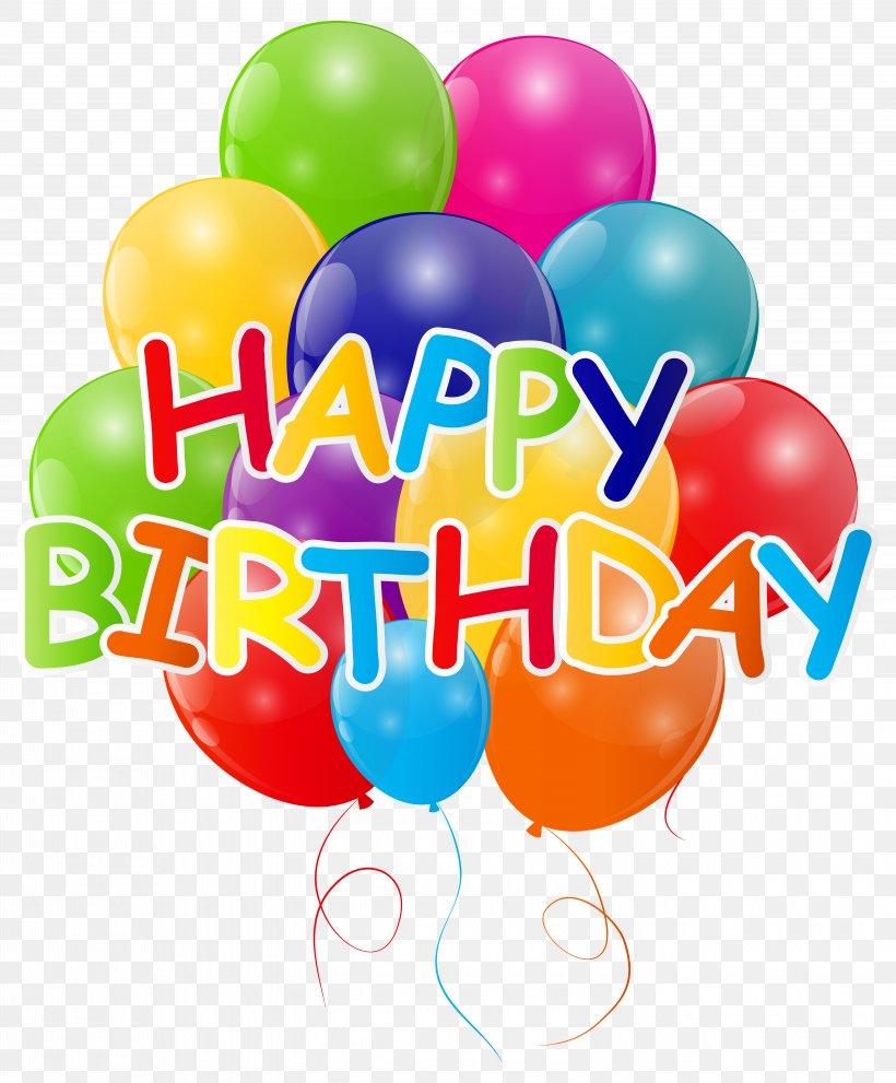 Birthday Balloon Clip Art, PNG, 5789x7000px, Balloon.
