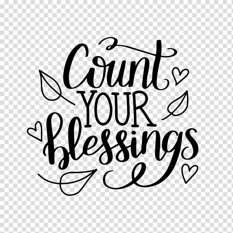 Count Your Blessings , others transparent background PNG.