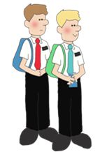 Lds clipart missionary 1 » Clipart Station.