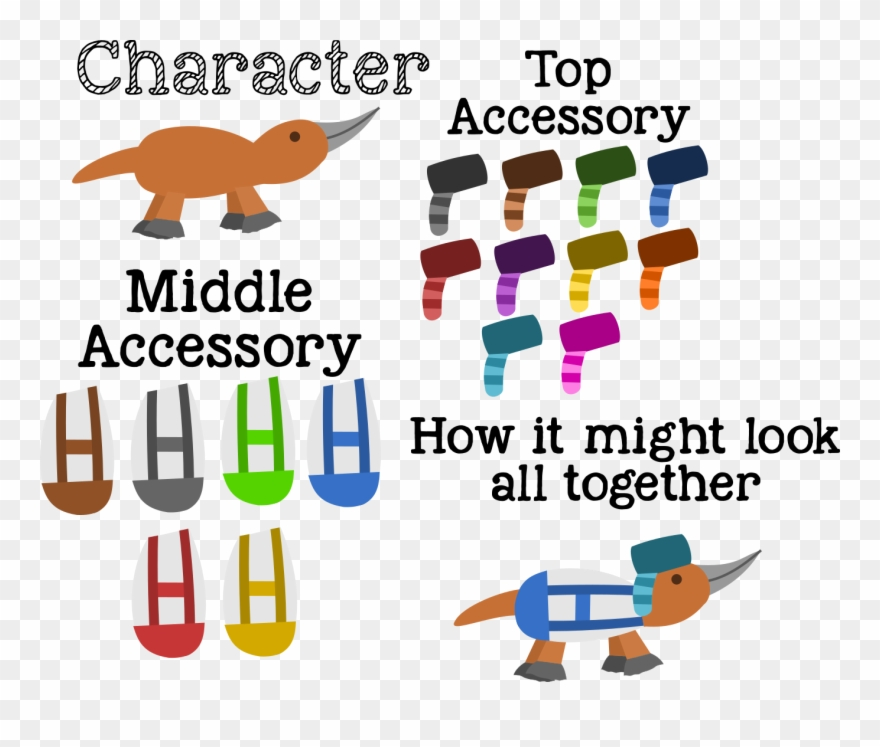 I Was Thinking About Whether The Platypus Should Be Clipart.