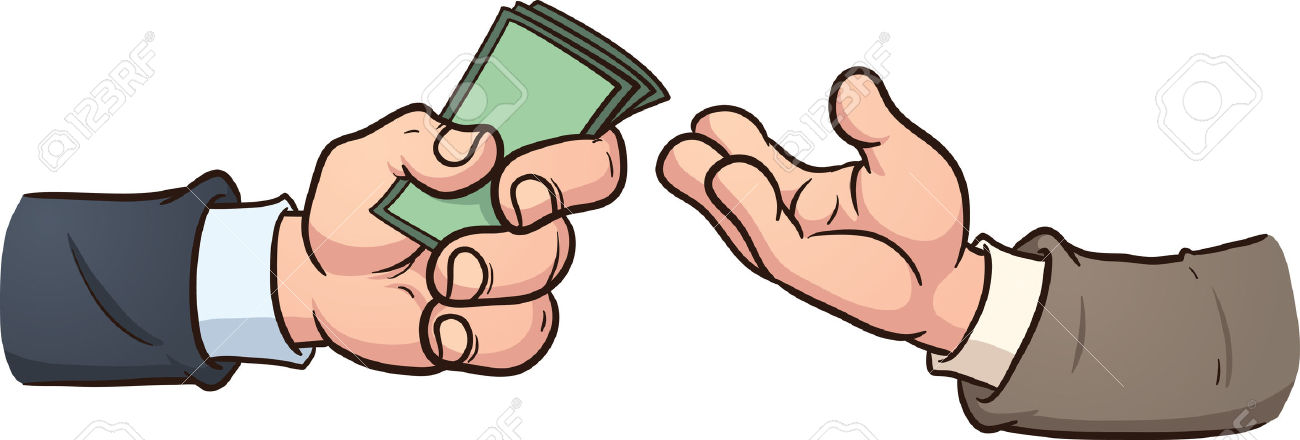 Money Exchange Clip Art.