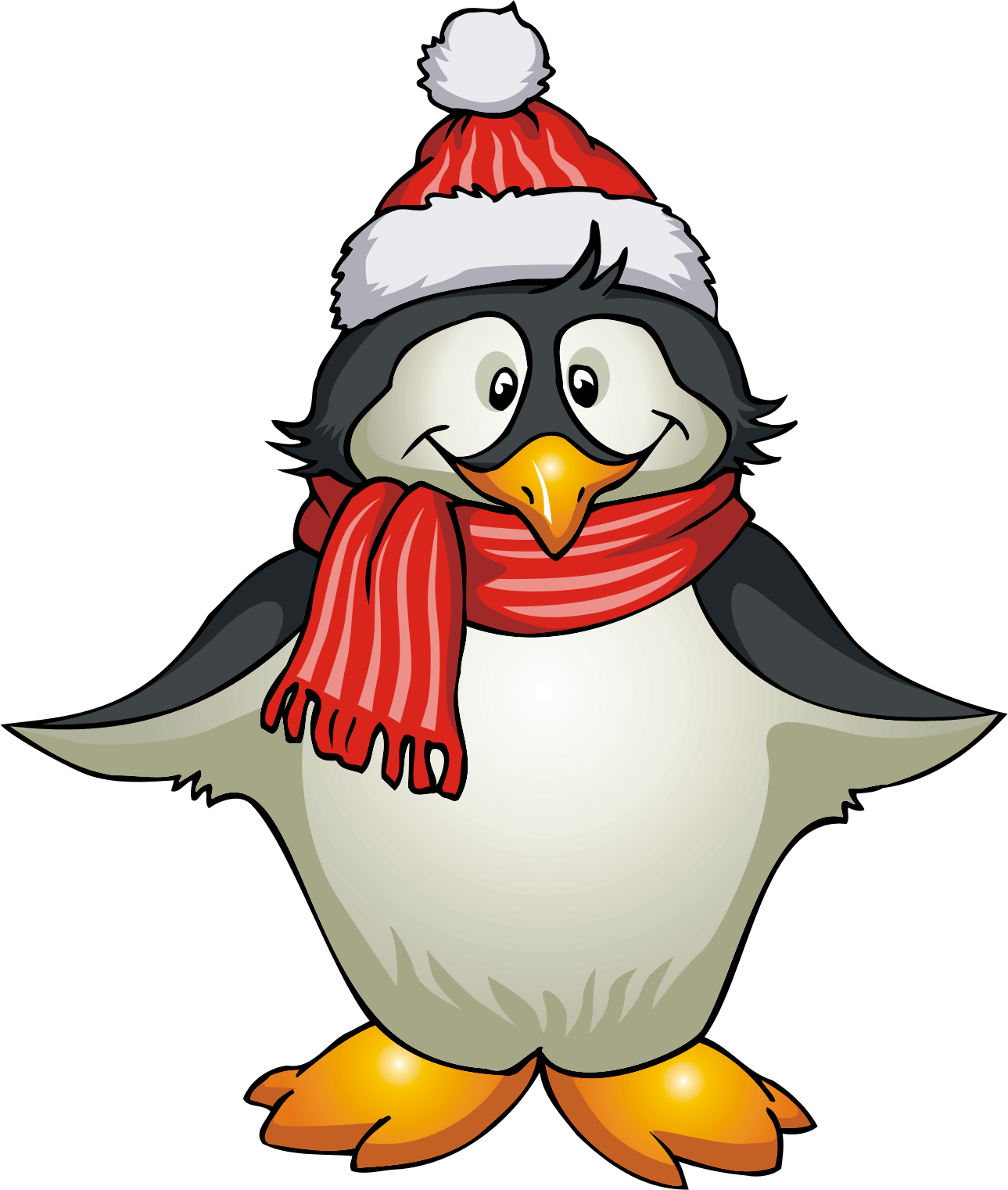 number 5 winter clipart #17