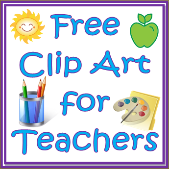 Clip art free for teachers.
