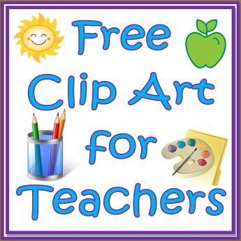 Clip art free for teachers.