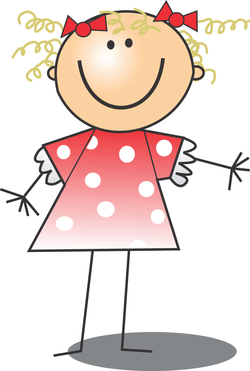 Free clip art pictures of girls.
