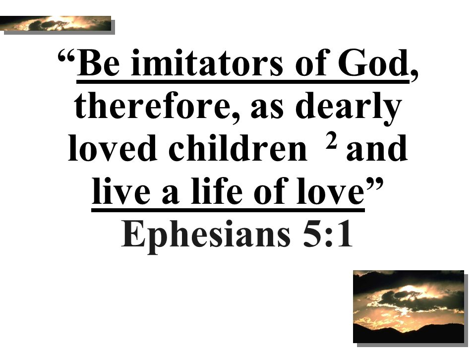 Marks of A True Christian (3) Ephesians 4:17.