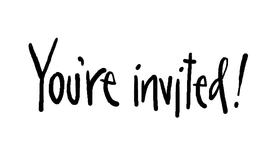 Youre invited animated clipart.