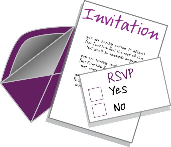 Your Invited Clipart.