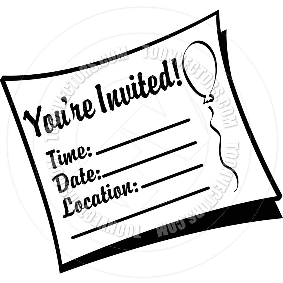 Invitation Clip Art Free.