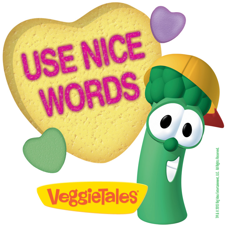 Use nice words clipart.