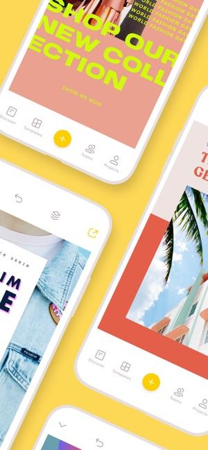 Over: Design/Flyer/Story Maker on the App Store.
