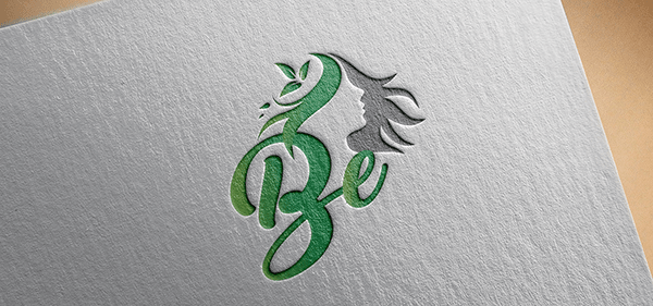 BE Logo Design.