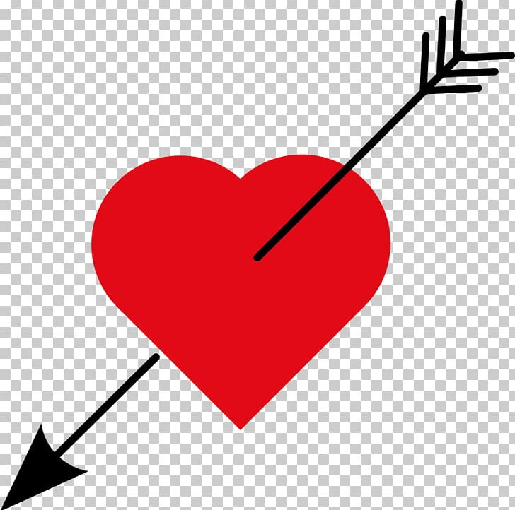 Heart Love Arrow Scalable Graphics PNG, Clipart, Area, Arrow.