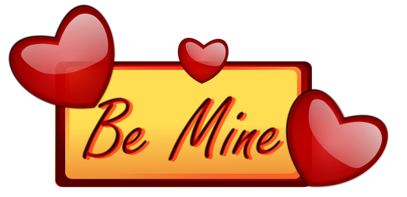 Free Clipart: Love Be Mine.