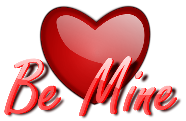 Free Be Mine Clipart, 1 page of Public Domain Clip Art.