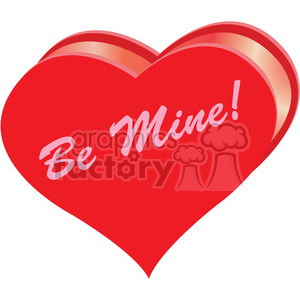 heart be mine clipart . Royalty.