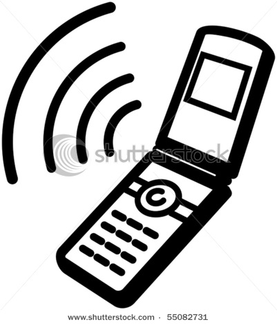 Mobile phone images clip art.