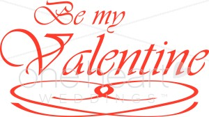 Be My Valentine Clipart.