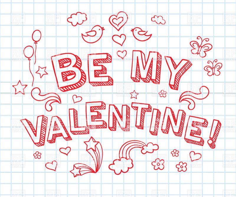 Be my valentine.