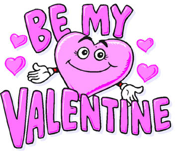 To My Valentine Clipart.
