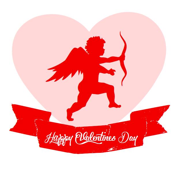 9612 Valentines free clipart.
