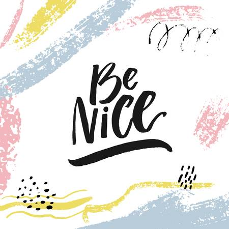 646 Be Nice Cliparts, Stock Vector And Royalty Free Be Nice.