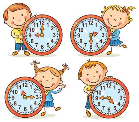 Telling time clipart » Clipart Station.