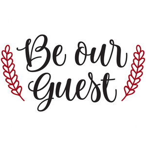 be our guest.