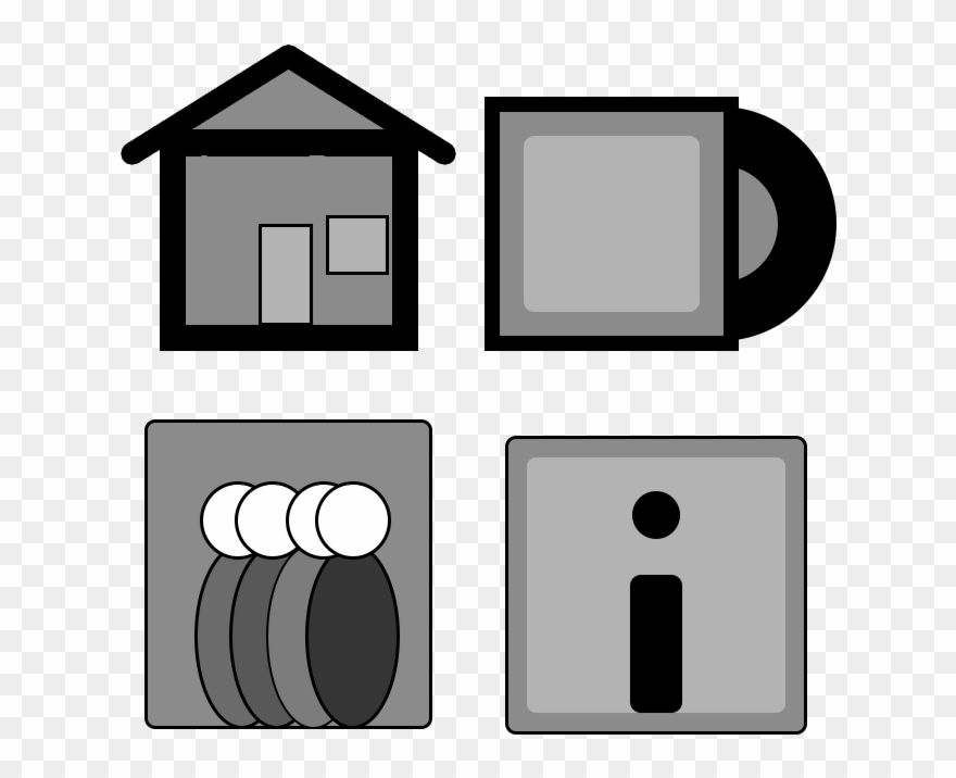 This Is An Icon Set That Could Be Used For A Potential Clipart.
