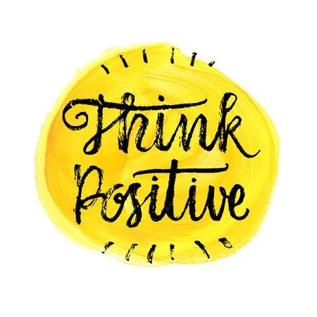 303 Think Positive Be Positive Stock Illustrations, Cliparts And.