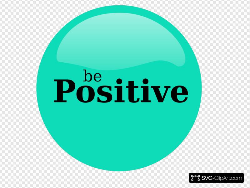 Be Positive Clip art, Icon and SVG.