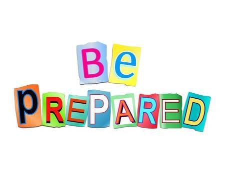 Be prepared clipart 1 » Clipart Portal.
