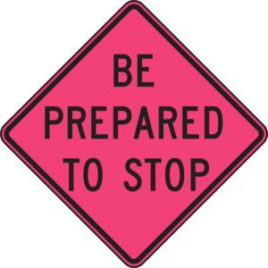 Be Prepared To Stop Sign Clip Art at Clker.com.