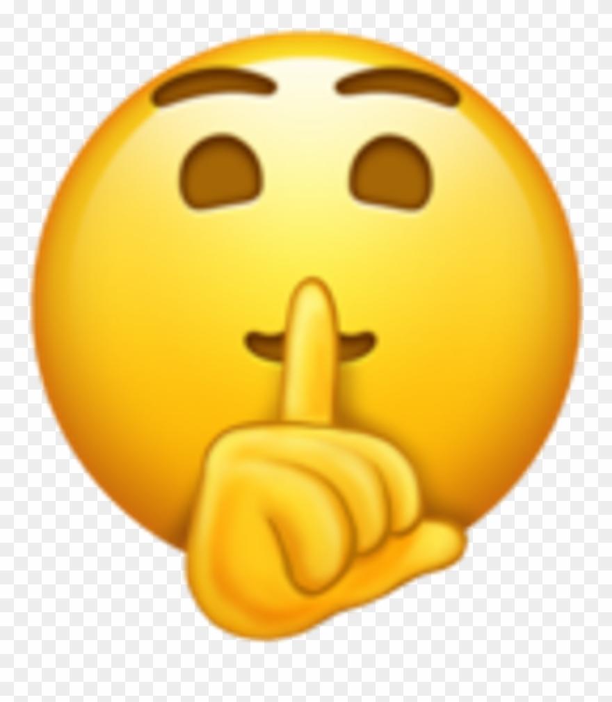Emoji Quiet Clipart (#980689).