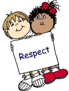 Image result for kids being respectful clipart.